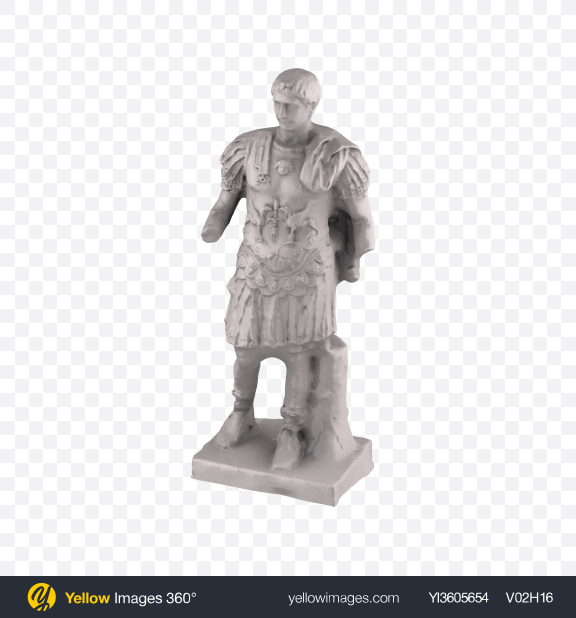 Download Emperor Trajan Statue Transparent PNG on Yellow Images 360°