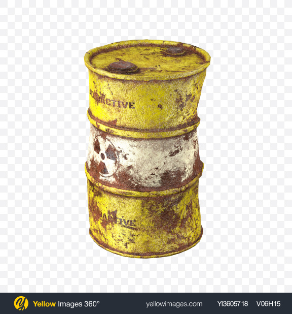 Download Rusty Barrel Transparent PNG on Yellow Images 360°
