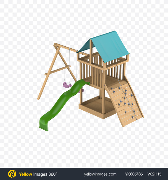 Download Kids Playground Transparent PNG on Yellow Images 360°