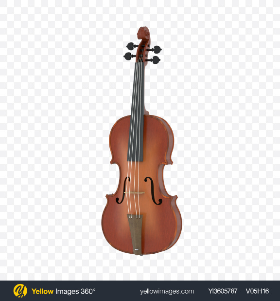 Download Violin Transparent PNG on Yellow Images 360°