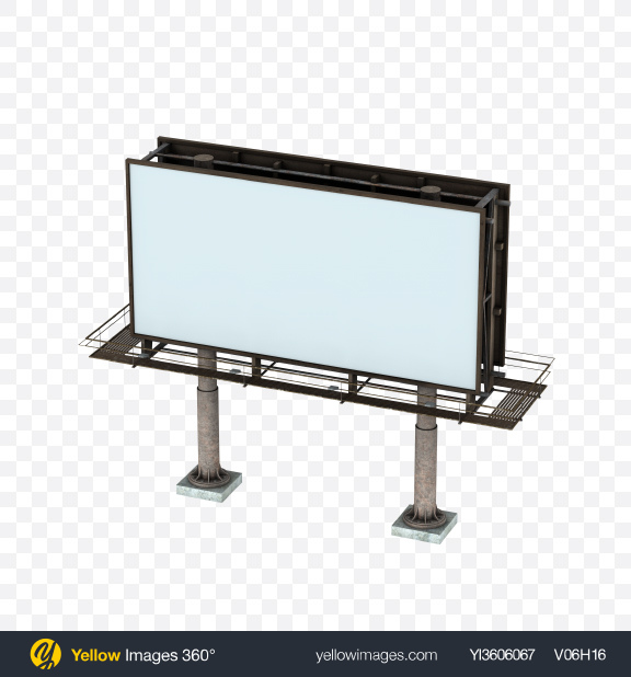 Download Billboard Transparent PNG on YELLOW Images