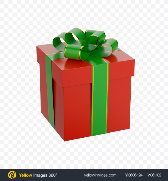 Download Gift Box with Bow Transparent PNG on YELLOW Images