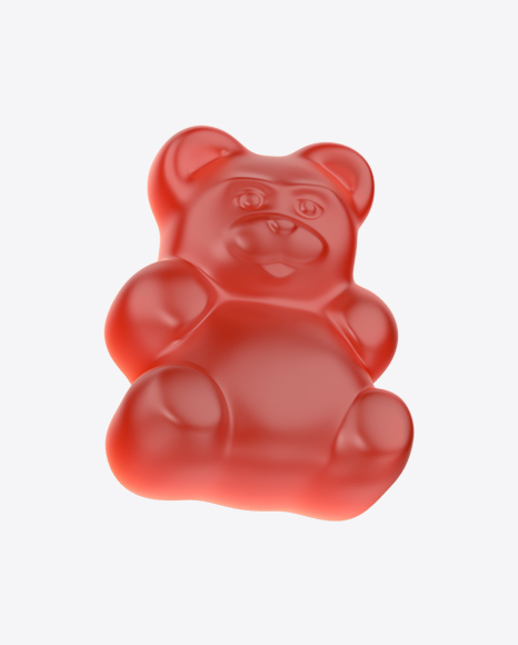 Red Gummy Bear Candy