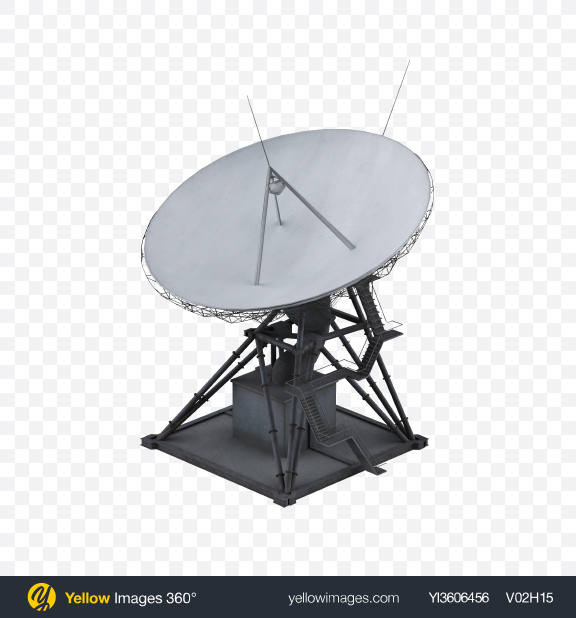 Download Deep Space Network Antenna Transparent PNG on Yellow Images 360°
