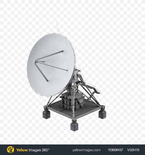 Download Network Antenna Transparent PNG on Yellow Images 360°
