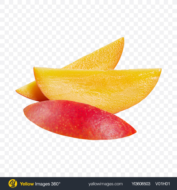 Download Mango Slices Transparent PNG on YELLOW Images