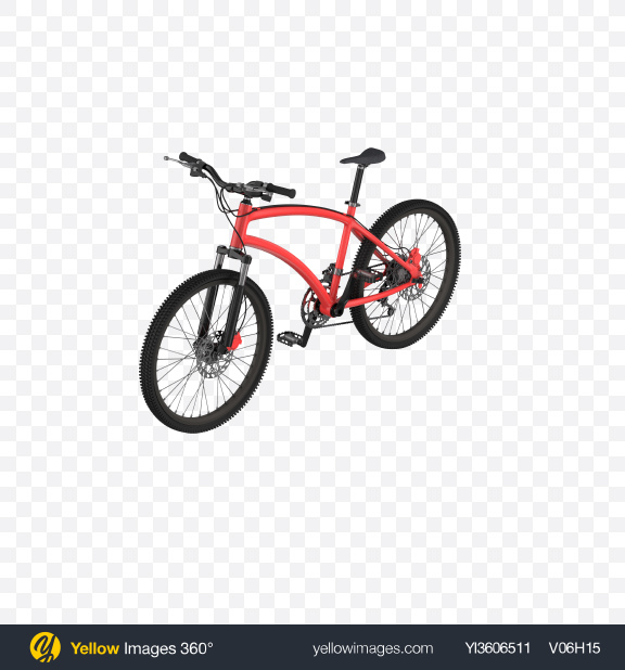 Download Red Bicycle Transparent PNG on Yellow Images 360°