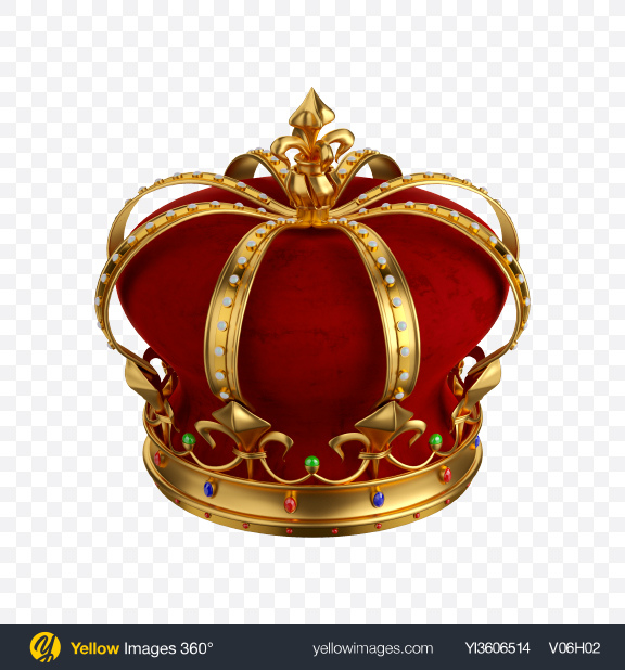 Download Royal Crown Transparent PNG on Yellow Images 360°