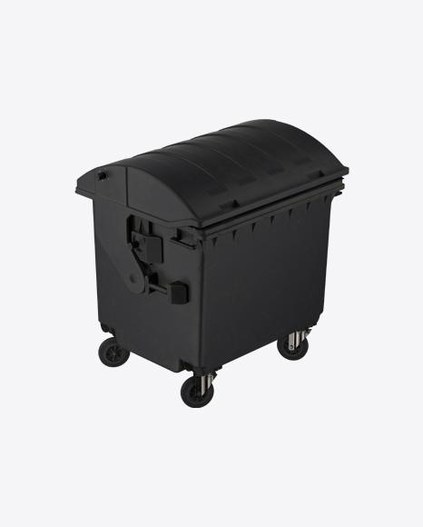 Black Dumpster