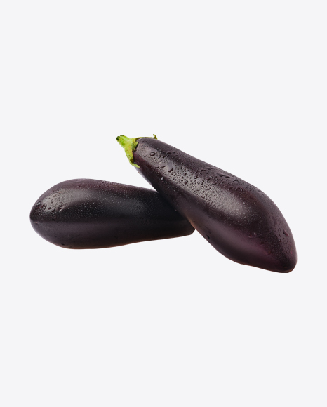 Eggplants w/ Water Drops