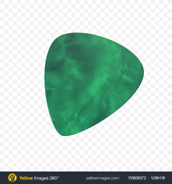 Download Guitar Pick Transparent PNG on Yellow Images 360°