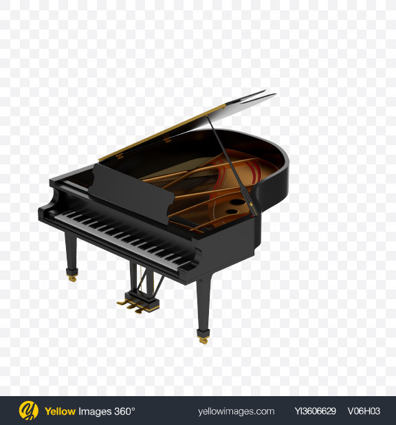 Download Black Grand Piano Transparent PNG on PNG Images