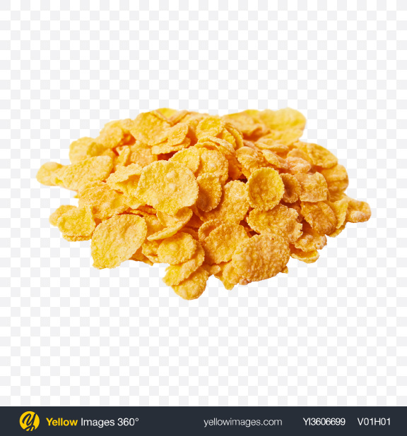 Download Pile of Cornflakes Transparent PNG on YELLOW Images