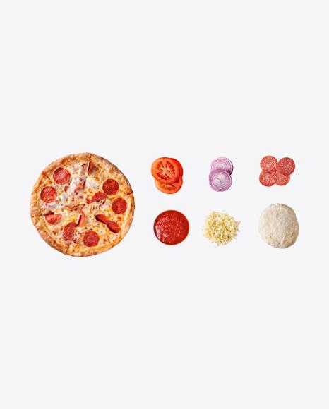 Pepperoni Pizza Set