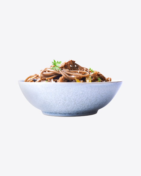 Soba Noodles w/ Meat