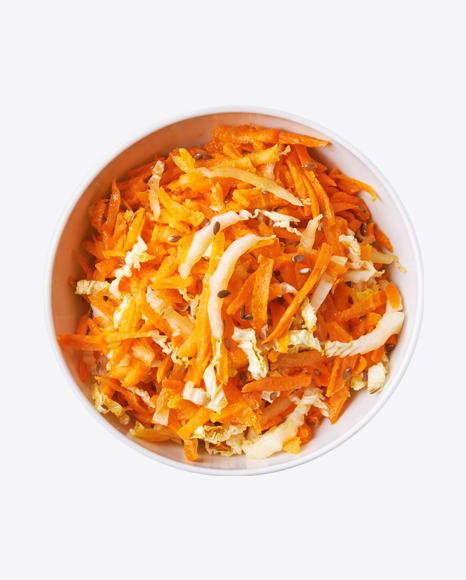 Shreddered Cabbage & Carrot Salad