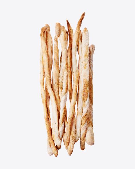 Bunch of Bread Sticks