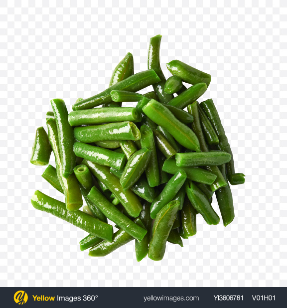 Download Pile of Green Beans Transparent PNG on YELLOW Images