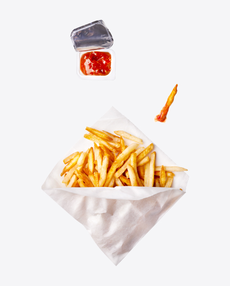 French Fries w/ Ketchup