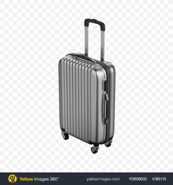 Download Metallic Rolling Suitcase Transparent PNG on PNG Images