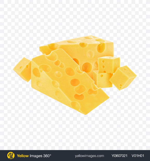 Download Maasdam Cheese Set Transparent PNG on YELLOW Images
