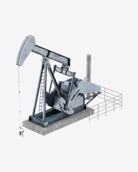 Refinery Pump Jack