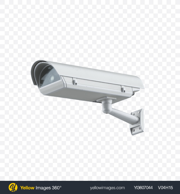 Download CCTV Camera Transparent PNG on Yellow Images 360°
