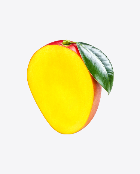Half of Mango