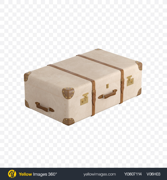 Download Leather Suitcase Transparent PNG on YELLOW Images