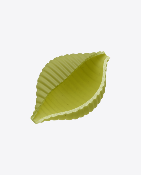 Green Conchiglie Rigate Pasta