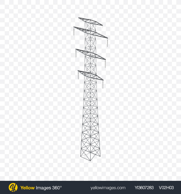 Download Electrical Tower Transparent PNG on YELLOW Images