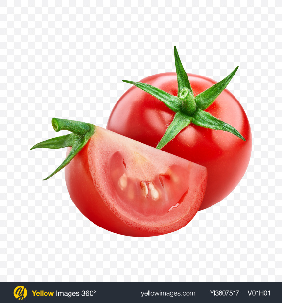 Download Tomato Set Transparent PNG on YELLOW Images