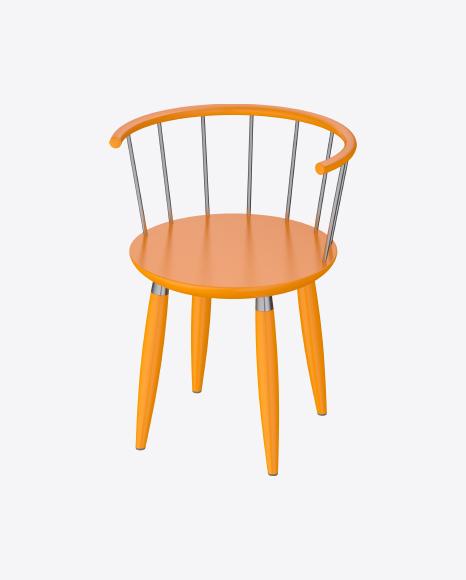 Kids Orange Chair