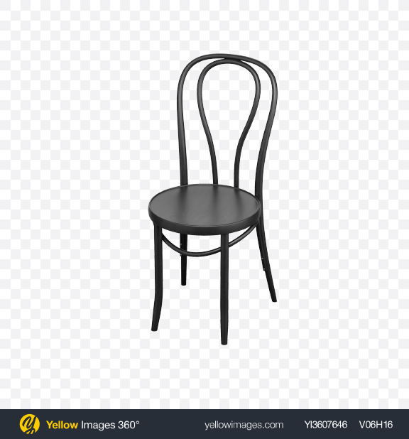 Download Black Bentwood Chair Transparent PNG on PNG Images
