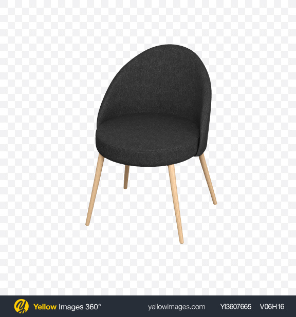 Download Black Fabric Chair Transparent PNG on PNG Images