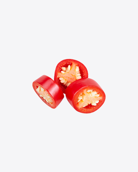 Red Chili Pepper Slices