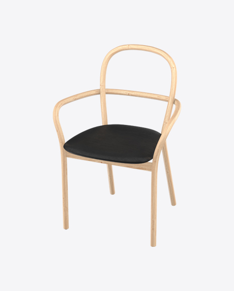 Beige Wooden Chair