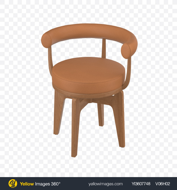 Download Beige Leather Chair Transparent PNG on PNG Images