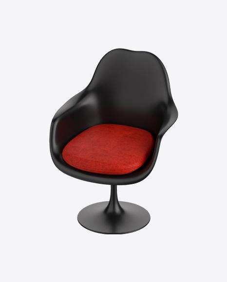 Black Tulip Armchair