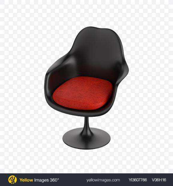 Download Black Tulip Armchair Transparent PNG on PNG Images
