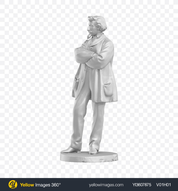 Download Men Sculpture Transparent PNG on YELLOW Images