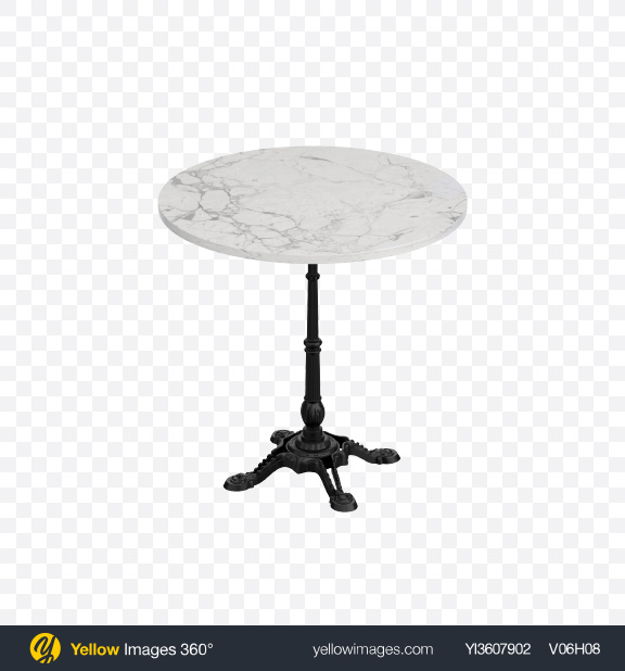 Download Marble Cafe Table Transparent PNG on YELLOW Images