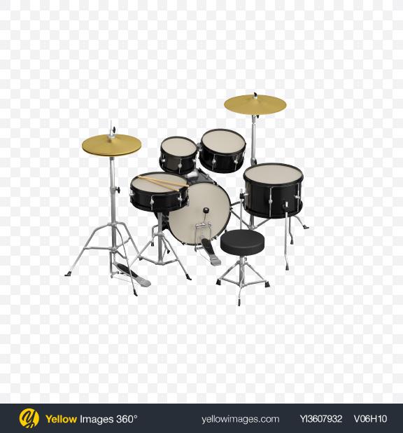 Download Drum Set Transparent PNG on PNG Images
