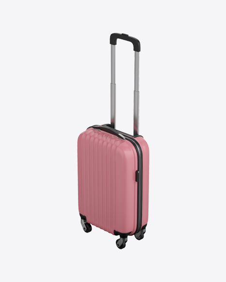 Pink Rolling Suitcase