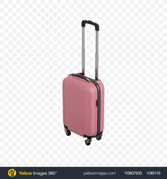 Download Pink Rolling Suitcase Transparent PNG on PNG Images