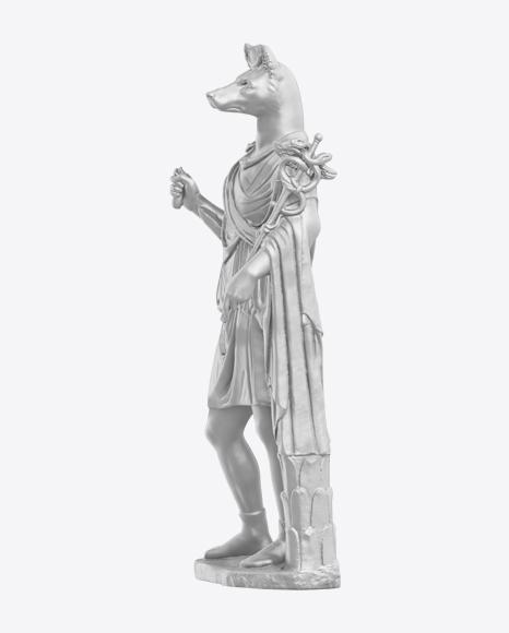 Hermanubis Statue