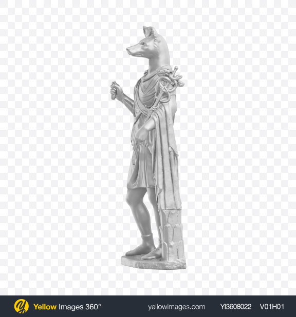 Download Hermanubis Statue Transparent PNG on YELLOW Images