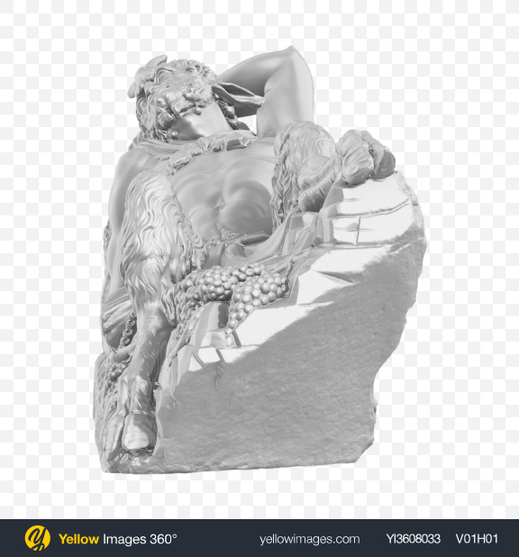 Download Faun Sculpture Transparent PNG on YELLOW Images