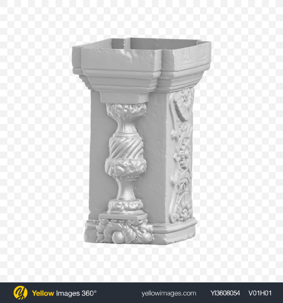 Download Column w/ Relief Transparent PNG on YELLOW Images