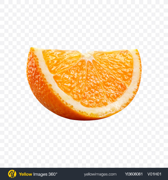 Download Orange Slice Transparent PNG on YELLOW Images